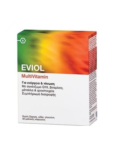 Eviol MultiVitamin Συμπλήρωμα Διατροφής 30 Κάψουλες [ΚΩΔ.7208]