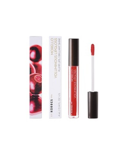 Korres Morello Voluminous Lipgloss 54 Real Red 4ml [ΚΩΔ.8989]