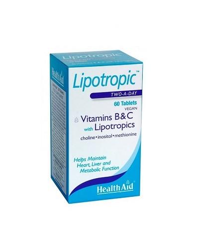Health Aid Lipotropic B&C 60 tabs [ΚΩΔ.3554]