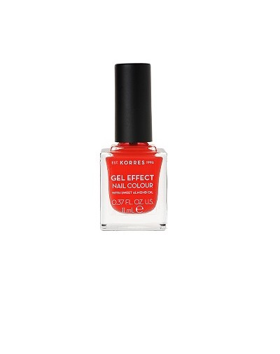 Korres Gel Effect Nail Colour 45 Coral 11ml [ΚΩΔ.8324]