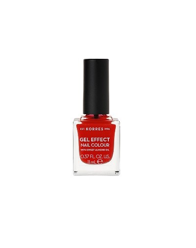 Korres Gel Effect Nail Colour 51 Rosy Red 11ml [ΚΩΔ.8326]