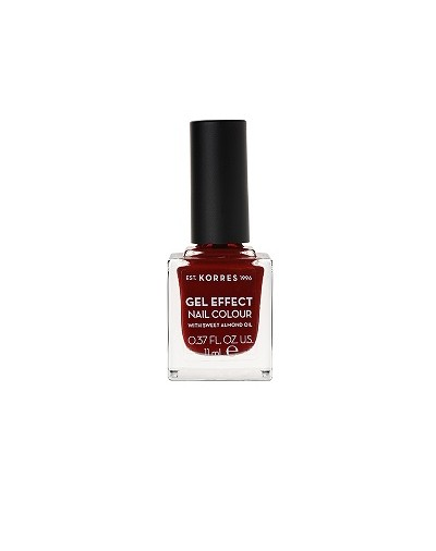 Korres Gel Effect Nail Colour 59 Wine Red 11ml [ΚΩΔ.8328]