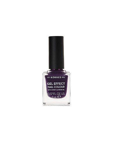 Korres Gel Effect Nail Colour 75 Violet Garden 11ml [ΚΩΔ.8329]