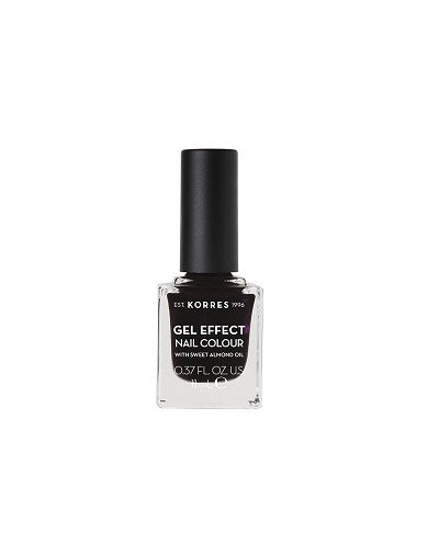 Korres Gel Effect Nail Colour 76 Smokey Plum 11ml [ΚΩΔ.8690]