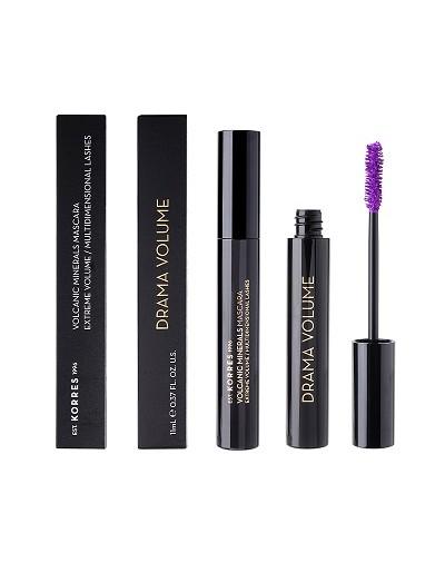 Korres Black Volcanic Minerals Drama Volume Mascara 05 Lavender Pop 11ml [ΚΩΔ.9359]