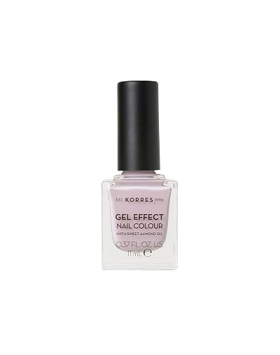 Korres Gel Effect Nail Colour 06 Cotton Candy 11ml [ΚΩΔ.9062]
