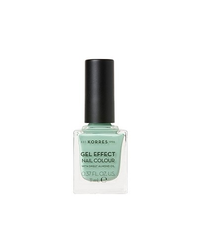 Korres Gel Effect Nail Colour 35 Mint Green 11ml [ΚΩΔ.9065]