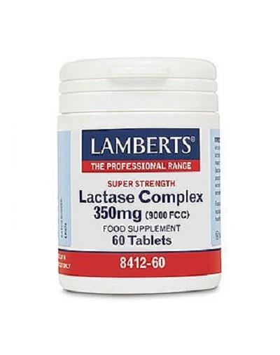 Lamberts Lactase Complex Σύμπλεγμα Λακτάσης 60 Tabs [ΚΩΔ.4868]
