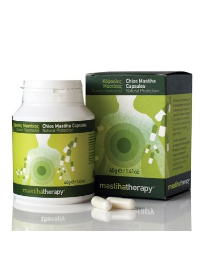 Mastihatherapy Chios Mastiha Capsules 350mg Κάψουλες Μαστίχας για τις Στομαχικές Διαταραχές 90 Caps [ΚΩΔ.6777]