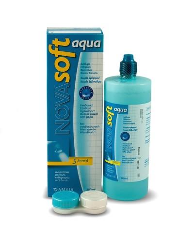 NovaSoft Aqua Διάλυμα Φακών Επαφής 360ml [ΚΩΔ.5379]