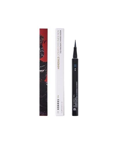 Korres Minerals Liquid Eyeliner Pen 03 Blue 1ml [ΚΩΔ.9147]