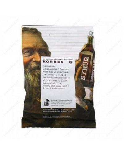 Korres Καραμέλες με Αρωματικά Βότανα, Μέλι & Γλυκαντικό από το Φυτό Στέβια 50g [ΚΩΔ.6200]
