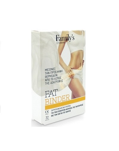 Power Health Family's Fat Binder 32 tab [ΚΩΔ.9106]