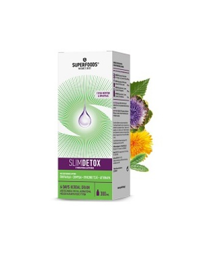 Superfoods SlimDetox 300ml [ΚΩΔ.8879]