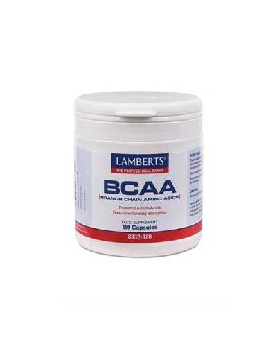 Lamberts BCAA Branch Chain Amino Acids 180 Caps [ΚΩΔ.0748]