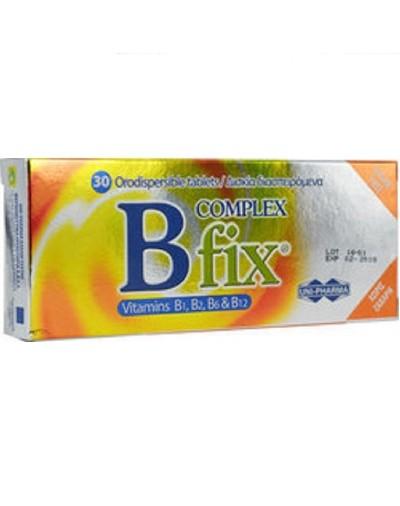 Uni-Pharma Bfix Complex 30 Δισκία [ΚΩΔ.7702]