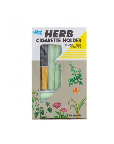 Vican Herb Πίπα Cigarette Holder με 12 Ανταλλακτικά Φίλτρα [ΚΩΔ.6030]