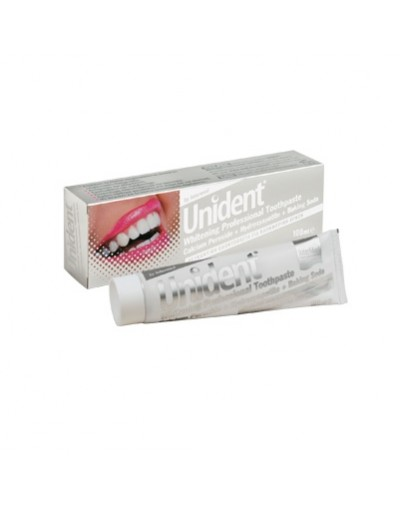 Intermed Unident Whitening Professional Toothpaste 100ml [CODE 7761]