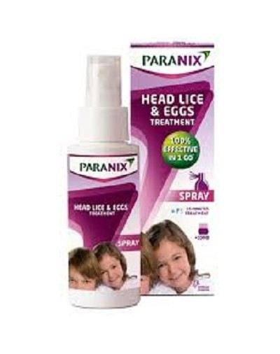 Paranix Anti-Lice and Nits Treatment Spray 100ml [CODE2489]