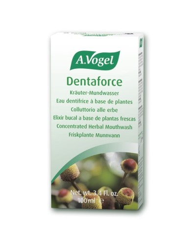 A.Vogel Dentaforce Mouthwash with Herbal Extracts 100ml [CODE 5645]