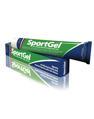 Euromed SportGel Rejuvenates and Tones Tired and Heavy Legs 100ml [CODE 7818]