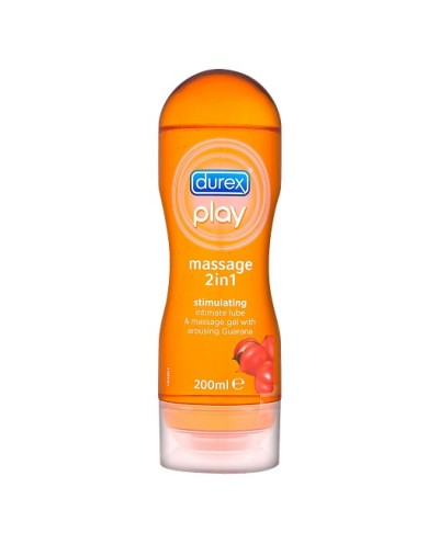 Durex Play Massage 2in1 Stimulating Intimate Lube & Massage Gel 200ml [CODE 3048]