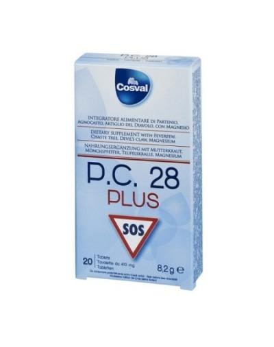 Cosval P.C. 28 SOS Pain Relief 20 tabs [CODE 8357]