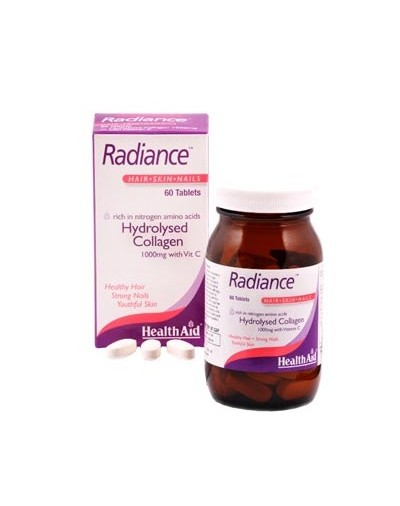 HEALTH AID RADIANCE HYDROLYSED COLLAGEN 1000mg with Vit. C 60 Tabs [ΚΩΔ.5331]