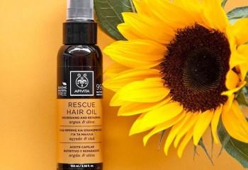 Το rescue hair oil με ελιά & έλαιο argan επανορθώνει ,θρέφει ,προστατεύει τα μαλλιά και σου χαρίζει τα μαλλιά που πάντα ονειρευόμουνα..